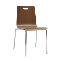 Bleeker Street Wood Shell Chairs